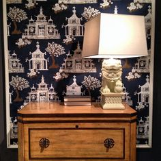 Fun Chinoiserie Styling at Hooker — High Point Fall Market 2013 Apartment Therapy #HPMKT