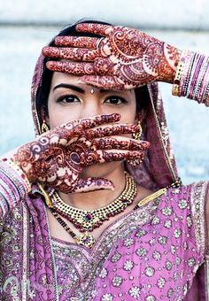 the night of henna - a pre-wedding ritual found in Indian, Arabic and Jewish culture