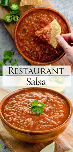 Homemade Mexican Salsa, Healthy Mexican Recipes, Healthy Dinner Recipes, Appetizer Recipes, Cooking Recipes, Mexican Dips, Mexican Desserts, Cooking Tips, Appetizers