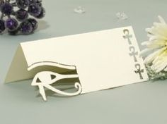 Egypt Wedding Name Place Cards Pack 10 2017 Gold