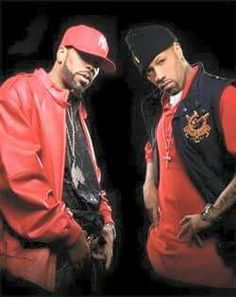 Old school rappers' finest. Method Man and Redman.
