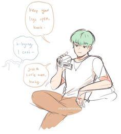 ¡! SMUT - Porque Jungkook estaba amarrado a la cama, y Yoongi no se d… #historiacorta # Historia Corta # amreading # books # wattpad