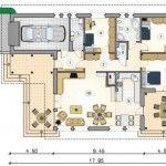 Descargar planos de casa de 3 recamaras con medidas gratis