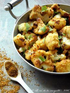 Imprimez l'articleVoici une recette qui vous fera considérer le chou-fleur autrement : un bel enrobage doré, une cuisson juste croquante, une saveur délicieusement parfumée aux épices et à l'amande. La cuisson se fait au four ...