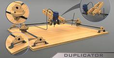 Router Duplicator - STEP / IGES,SOLIDWORKS - 3D CAD model - GrabCAD