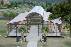 michelangelo green house beautifull transportable tent for event in Italy and Europe. Tent Wedding, Outdoor Wedding Venues, Dream Wedding, Modern Wedding Venue, Wedding Favors, Austin Wedding Venues, Wedding Souvenir, Marquee Wedding, Barn Wedding Venue
