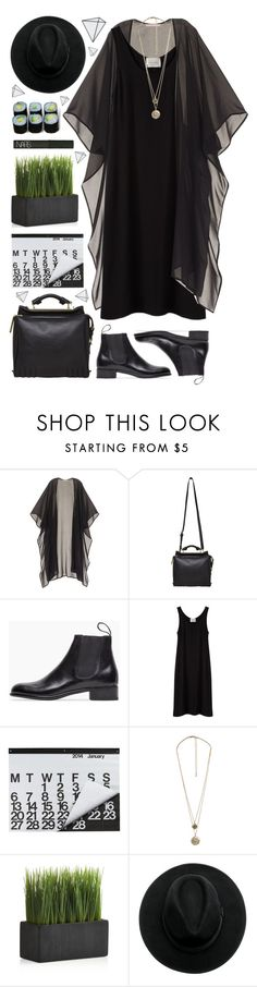 """""""Tell Me…"""" by yen-and-len ❤ liked on Polyvore featuring Victoria's Secret, 3.1 Phillip Lim, Le Yucca's, La Garçonne Moderne, Crate and Barrel, Forever 21, NARS Cosmetics and Jura"""