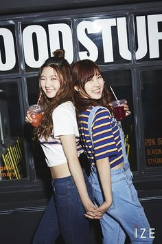 Sungyeon and Yehana