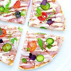 Hamachi-Jalapeño Pizza