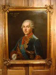 Portrait de Louis Dauphin de France Epoque XVIIIe