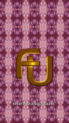 @monosignum is proudly to #present your #FU_03 #monogram as a #wallpaper for your #iPHONE #5 for #free