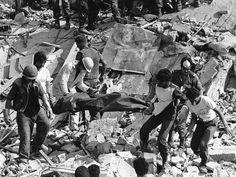 US Marine Operations center, Beirut, Lebanon. Oct 23, 1983.