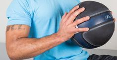 25 Must-Try Medicine Ball Exercises  #workout #totalbody #exercises
