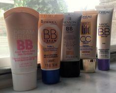 Comparison of BB and CC creams.