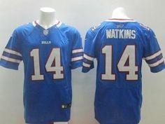 Nike Buffalo Bills #14 Sammy Watkins Lights Out Gray Elite Jersey ...