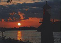 Sunset on Lake Manitou
