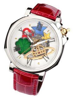 「ヴィヴィアン・ウェストウッド」初の本格機械式時計発売