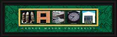 George Mason University Officially Licensed Framed Letter Art