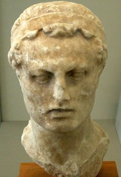 Bust of Antiochus IV at the Altes Museum in Berlin-In 168 B.C., Antiochus IV desecrated the Temple in Jerusalem. In response, the Hasmonaean family organized a guerrilla army against the Seleucids.
