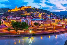 Your chance to visit the contrasting capital of #Georgia - #Tbilisi. Experience mixed culture of Europe and Asia, old Georgian houses, beautiful waterfalls, nature and delicious local cuisine. What else can you wish for a proper #city #tour!?