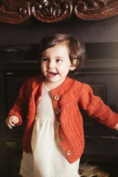 Classic Baby Knit Sweater; Amanda