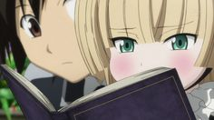 Victorique and Kujo from Gosick