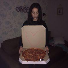 Girl eat