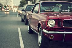'65 Mustang. . .my first car