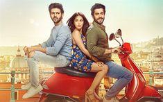 Download wallpapers Sonu Ke Titu Ki Sweety, 2018, Nushrat Bharucha, Kartik Aaryan, Sunny Nijar, Romantic film, Indian films, actors, Sweety, Sonu, Titu, 4k