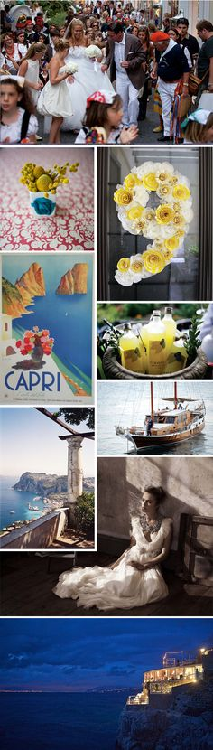 Capri wedding.