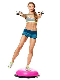 Feel the burn in your shoulders, back and thighs with this Reverse Flye Girl exercise