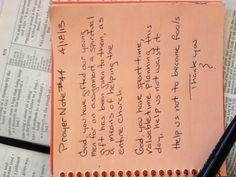 Prayer Note #44