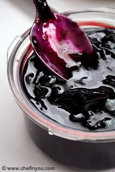 Concord Grape Jam Recipe | Homemade Grapes Jam - This recipe was easy and a winner. Just sugar and grapes! About as easy as it gets.
