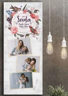 Anneler günü temalı tablo kişiye özel sipariş hediye fikri | Kadınca Fikir - Kadınca Fikir