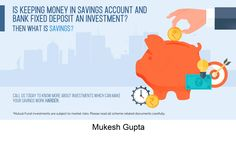 A savings account is an interest-bearing deposit account held at a bank or other financial institution that provides a modest interest rate. Certified Financial Planner, Financial Tips, Financial Planning, Wealth Management, Management Company, Market Risk, Financial Institutions, Retirement Planning, Kids Education