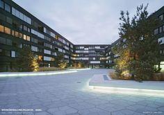 """Sieger in der Kategorie Technik, die Westpol Landschaftsarchitekten GmbH, mit der """"Wohnüberbauung Erlentor""""⇥Foto: SLG"""