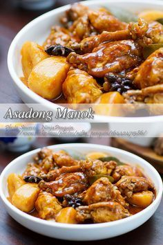 Chicken asado or asadong manok is a chicken version of the well known pork asado. Again, if you are searching for a healthier version of asado, then chicken Filipino Recipes, Asian Recipes, Filipino Food, Chicken Asado Recipe Filipino, Asian Foods, Easy Recipes, Perfect Grilled Chicken, Healthy Chicken Dinner, Roast Chicken Recipes