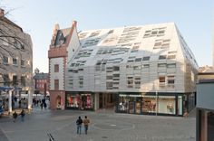 Mainz Markthauser Building - Mainz, Germany - Mixed-use building