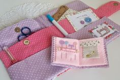 Fabric Sewing Folder and a Needle Book
