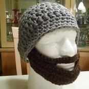 Adult Beard Hat Crochet Pattern - via @Craftsy $4.50