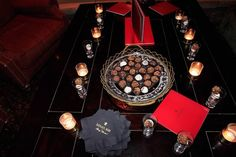 Remy's LouisXIII Aspen F 2012 -tray of truffles