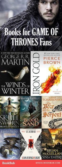 Gripping fantasy books and young adult books to read for fans of Game of Thrones. Full of kingdoms warfare and a little magic!