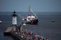 rrival of the tall ships - Duluth MN 2010 by  Dennis O'Hara / Northern Images Photography