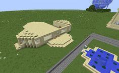 Orphea2012 Youtube et Minecraft: Exclusivité: Nouvelle construction sur ma map déco...