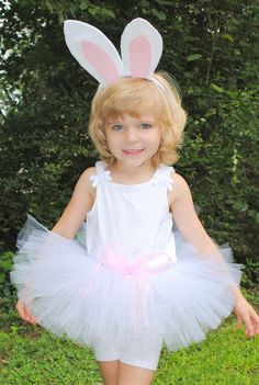 Bunny Tutu and Headband Costume