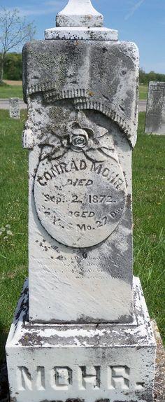 Conrad Mohr (1838 - 1872) - Find A Grave Photos