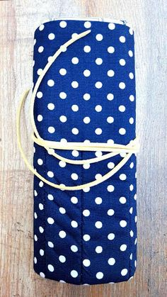 FRENCH VINTAGE SCISSORS Crochet Needle Case by KnittingBagAndCase