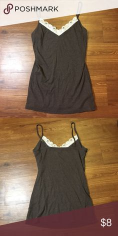 Old Navy Lacey Tank Size Large, Lace Tank Old Navy Tops Tank Tops