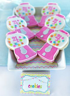 Colorful Sweet Shoppe Birthday Party: One of the cutest little girl parties I've ever seen :)