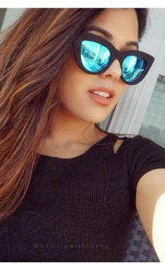 Kitti Sunglasses Blue Mirror - Sunglasses - Accessories.